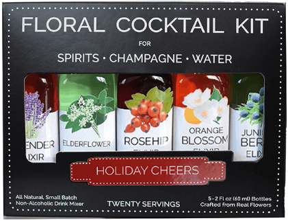Floral Elixirs Holiday Cheers