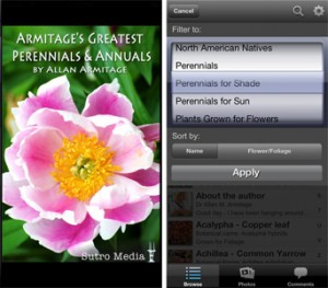 Allan Armitage's Greatest Annuals and Perennials Garden App