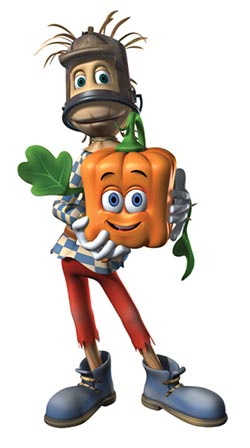 Spookley cartoon character