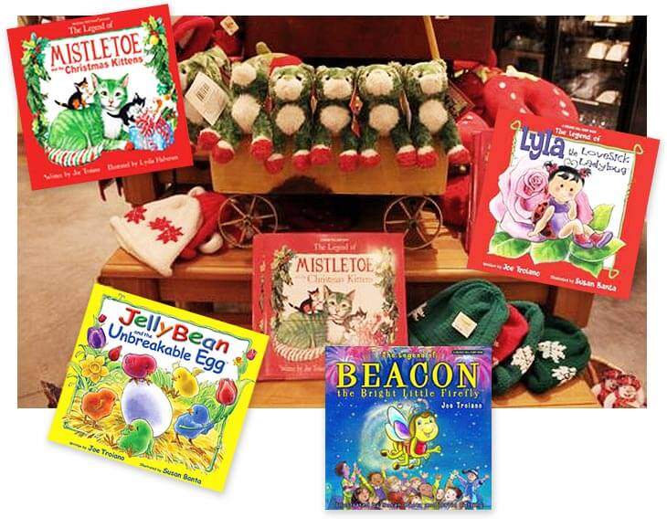 Evergreen Creations books for children