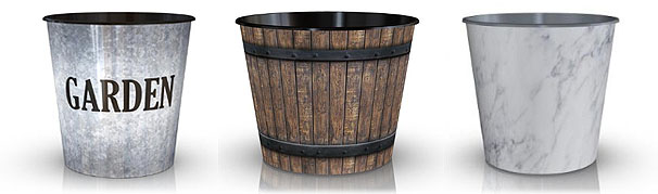 Trendy new decorated pot designs by daVinci